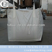 pp woven ton bag for pea coal 1500kg
