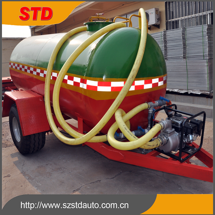 5000 liters small farm water tank trailer price