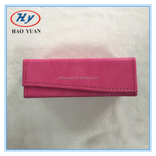 Hot sale brand name handmade folding glasses case, fashion sunglasses packaging box H8057