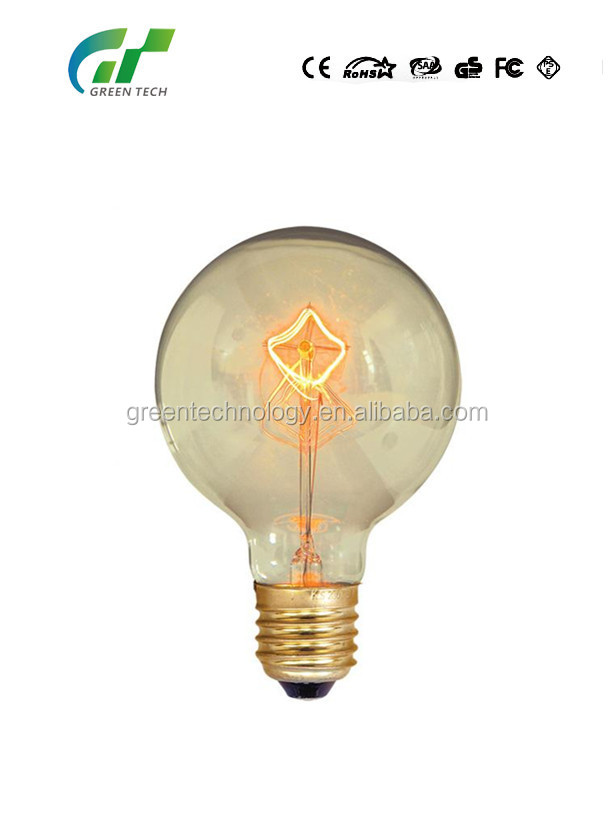 Vintage Edison Bulbs Antique Edison style light bulbs ST58 110v-240v