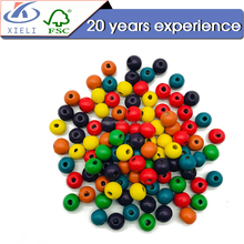 Popular among childen DIY wooden beads string on sale for jewelry making