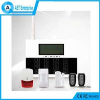 Auto Usage GSM SMS PSTN wireless home intrusion alarm system Intelligent GSM Wireless Home Alarm System