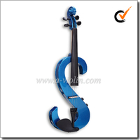 High Quality Blue Electric Violin (VE200)
