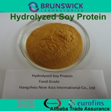 Pure hydrolysis soybean protein 100% Water Soluble Food Grade&Feed Grade Protein 50% molecular weight below 1000Dal 85%