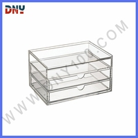 hot selling clear acrylic compartment storage box from Guangdong manufacture