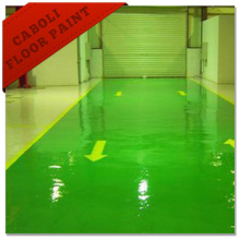 Caboli Non Slip Yellow Epoxy Industrial Floor Paint