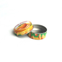 15g Eco-friendly metal round lip balm tin containers