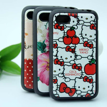 Colorful printing tpu cover for blackberry Q5