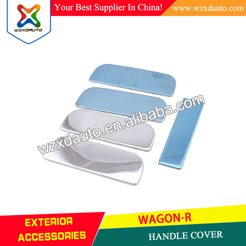 Chrome Door Handle Handles Cover Trim HANDLE COVER FOR SUZUKI WAGON-R 2006