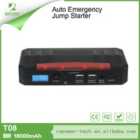 FCC, CE, ROHS, MSDS Certification and Emergency Tool Kit Type 18000mah Car Battery Jump Starter Power