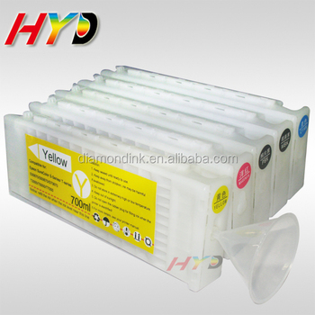 700ml Compatible Ink Cartridge for Epson SureColor T3000 T5000 T7000 inkjet printer