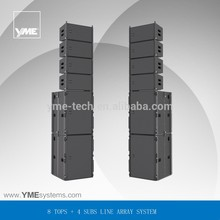 Yoga X Active Sys 3 active line array speaker calss-D amplificador e built in DSP