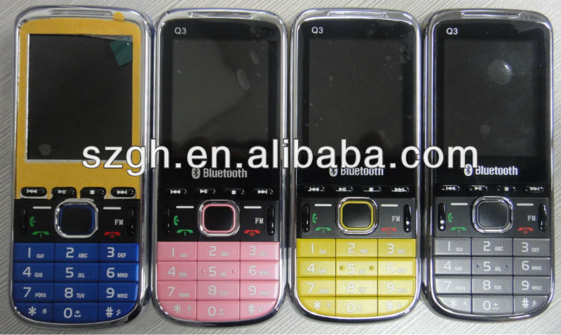 China Manufacturers sell Quad band mobile phone Q3