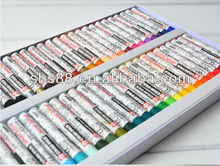 18 colors oil pastel student stationery set,acrylic fabric paint