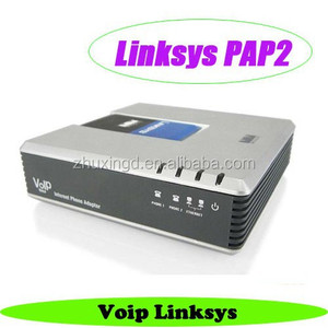 Unlocked linksys ata voip adapter wireless pap2 , pap2 na phone adapter