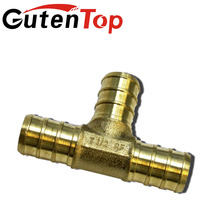 LB-Gutentop 2017 Brass pex fitting Female Threaded Pipe Reducing Tee