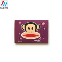 factory product cartoon custom metal sticker tin fridge magnet