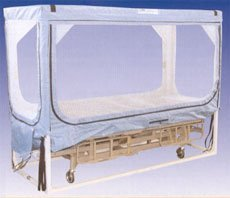 Soma safe enclosure view patient bed soma safe enclosure for Enclosed bed frame