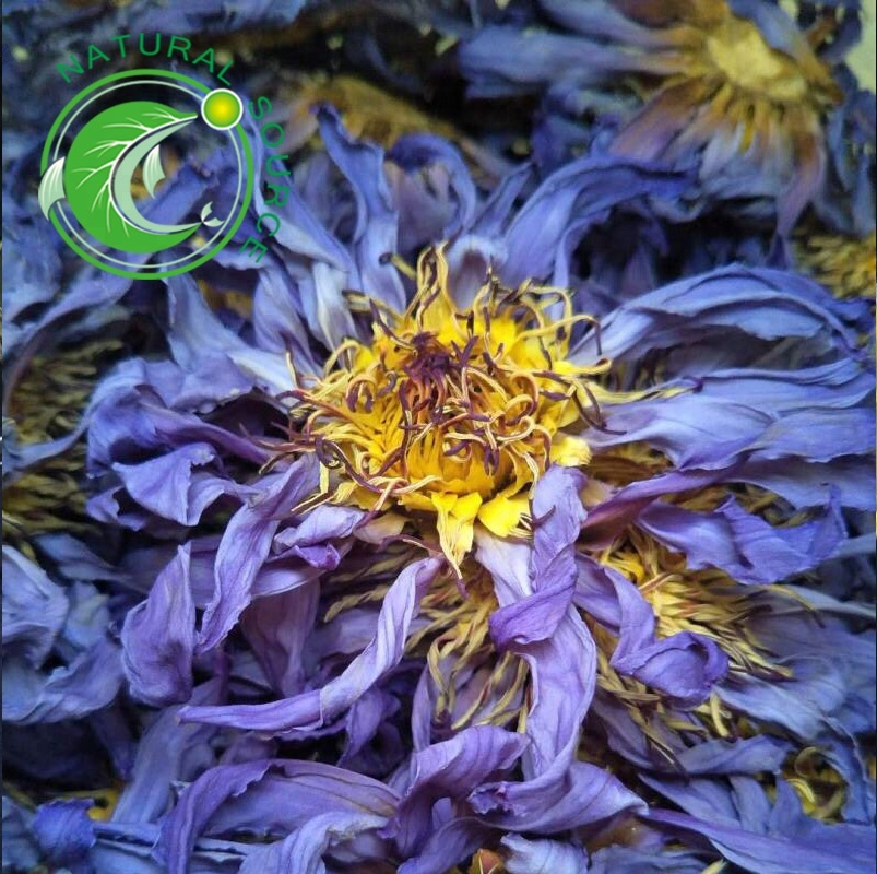 Wholesale Salable Natural Fresh Dried Blue Lotus Flower For Herbal