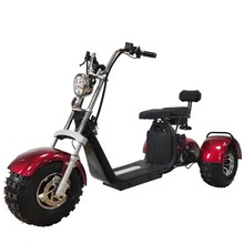 Adult three wheel electric scooter 3 wheel electric scooter tricycle citycoco