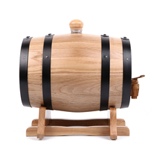 personalized sake 200 liter oak barrel