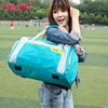 Korea Style Latest Model Girl Tote duffle bag waterproof blue travel bag for long-distance