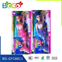 New Product Plastic Cheap Mermaid Barbie Doll Toy for Children No.GY18811
