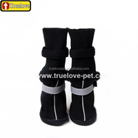Long Paw Protection Rubber Boots For Dog