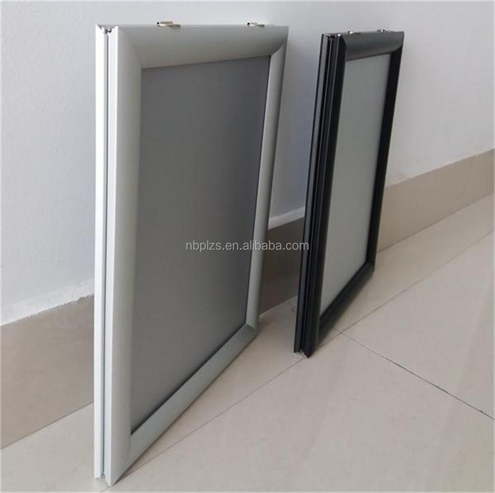 Advertising Display Clip Frame Ceiling Hanging Double