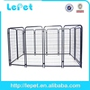 low price welded tube exercise animal pen