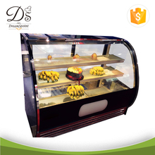 China Supplier Commercial showcase Refrigerator cake display fridge
