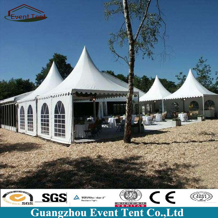Chinese 4m x 4m Garden Gazebo Marquee Canopy Tents For Wedding Party