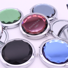 Hot New Beauty Salon Mirrors Double Side Glass Pocket Mirror