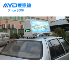 WIFI 3G Computer Outdoor SMD Full Color Pixel 5mm Car Taxi Top High Quality LED Display