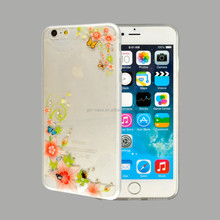 tpu case for iPhone 6 plus soft back case cover with diamond phone case of the month