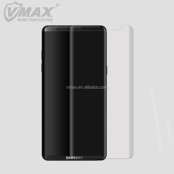 Newest mobile case friendly soft 3D full cover TPU screen protector galaxy note 8