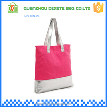 2015 Eco-friendly reusable chinese beach custom canvas tote bag