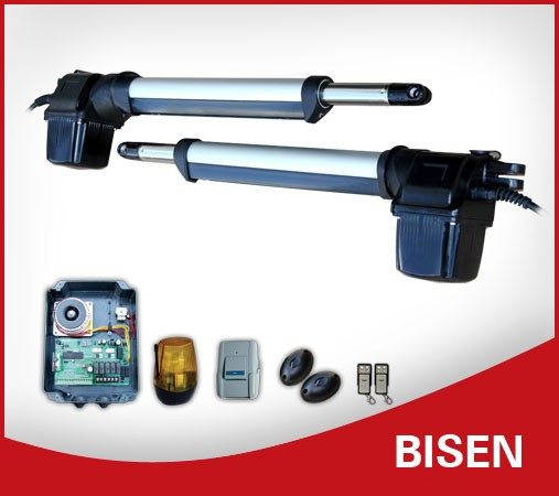 Bisen Access Control Door Opener System Manual Swing Gate Operator
