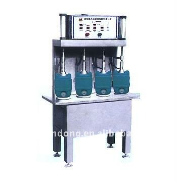 4 heads 20L beer keg filling machine, beer cen filler