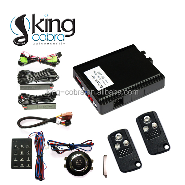 one button start passive keyless entry smart key system for Honda Civic