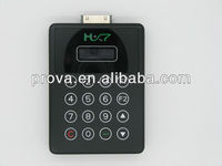 IOS smart card reader with pinpad