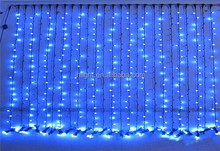 led christmas curtain waterfall lights / led starry sky light/Stage Background Curtain
