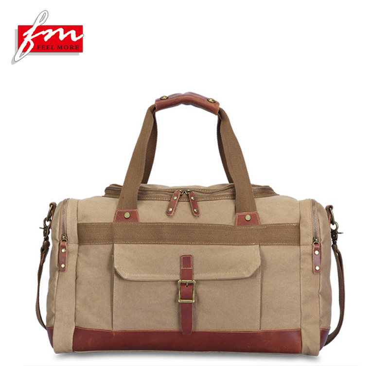 Wear-resistant Best Portable Canvas Luggage Bags, China Duffel Bags Luggage