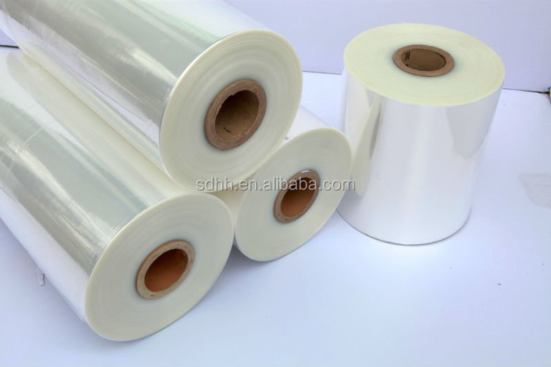 Thick Plastic Protective Pof Shrink Film for Book Cover