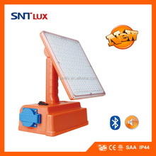 SNTLUX LED Portable Work Light with Bluetooth Speaker/ Socket/ USB Hub