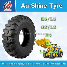 China bias Off-the-Road Tire G2/L2 16.00-24TG 17.5-25 20.5-25 for grader loader excavator