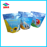 plastic packaging bags ziplock stand pouch-pets food bag