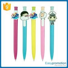 Hot promotion good quality hotel plastic ball pen from manufacturer