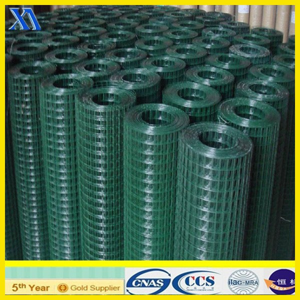 plastic welded wire mesh/galvanized welded wire mesh/welded rabbit cage wire mesh