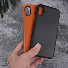 Genuine Leather Case Cover For Iphone X Slim Protective Cover